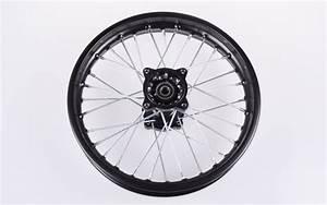 Dirt Bike Reifen : stahl felge hinten 1 85 x 14 schwarz f pit bike dirt ~ Jslefanu.com Haus und Dekorationen