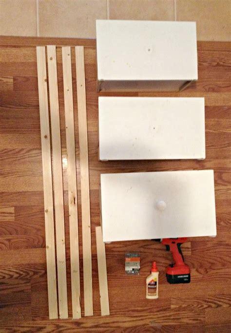 hometalk diy ladder shelf   repurposed drawers