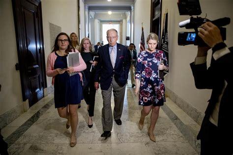 Republicans says it's full speed ahead on Brett Kavanagh's