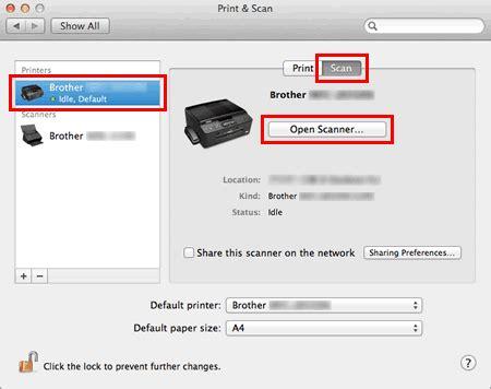 numeriser  document avec os   ou   brother