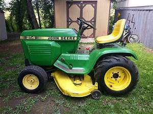 My 1975 John Deere 214 And Pics Of My First Ever Garden