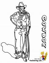 Cowboy Coloring Pages Sheets Ride Cowboys Sheet Boys Yescoloring Em Westerns sketch template