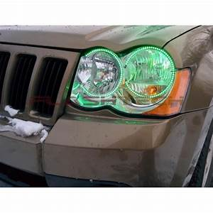 Jeep Grand Cherokee V 3 Fusion Color Change Led Halo