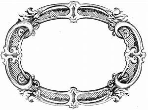 Black Scroll Frame Clip Art Free Clipart Images Cliparting