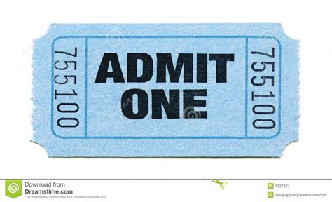 ticket stub template pink and blue admission ticket stock image image of isolate isolated