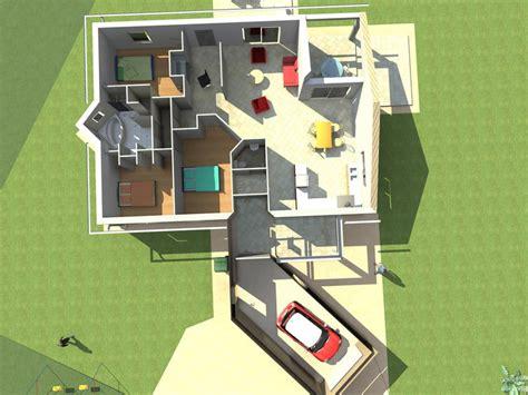 maison 3 chambre modele maison maison 3 chambres cellier salon séjour