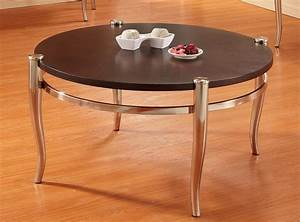homelegance coffey round cocktail table brushed nickel With brushed nickel coffee table
