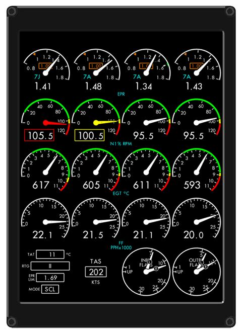 eids engine instrument display system innovative solutions support