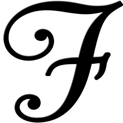 7 Best Images Of Fancy Cursive Letter F Printable Printable