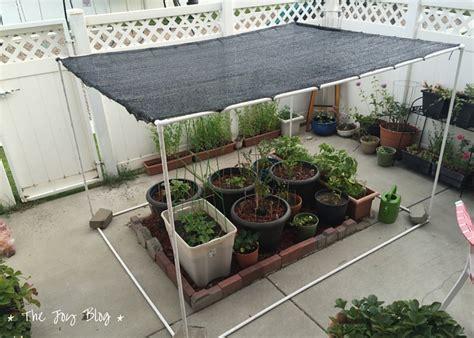 Garden Shade Canopy by Diy Freestanding Shade Canopy For Garden The