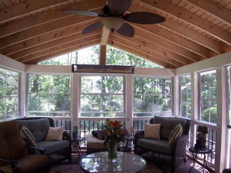 Four Season Porch Furniture Ideas by Rustic Four Season Rooms Season Room Interior Parkville
