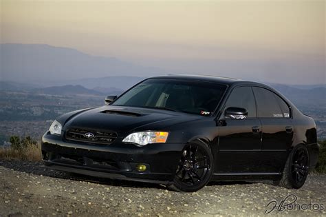 subaru legacy black black 2006 subaru legacy with front lip autos post