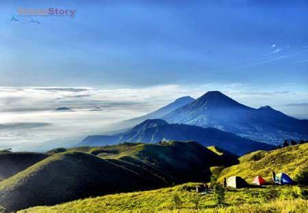review wisata gunung prau dieng wonosobo tempat wisata