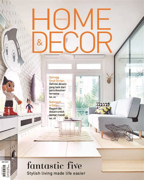 indonesia home decor home decor indonesia magazine october 2015 gramedia