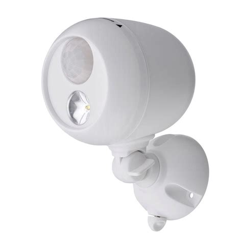 mr beams outdoor white wireless motion sensing led spot