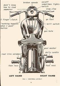 How To Operate A Vintage Motorcycle