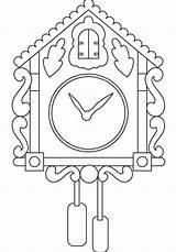 Clock Coloring Pages Wall Alarm Printable Fun Coloringpagesfortoddlers Colouring Coloringfolder Sheets Disimpan Owl Dari sketch template