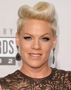 American Music Awards 2012 Pink Swaps Her Rocker Look For