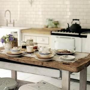 Cuisine En Bois Brut : des exemples de cuisines pour vous inspirer ~ Teatrodelosmanantiales.com Idées de Décoration