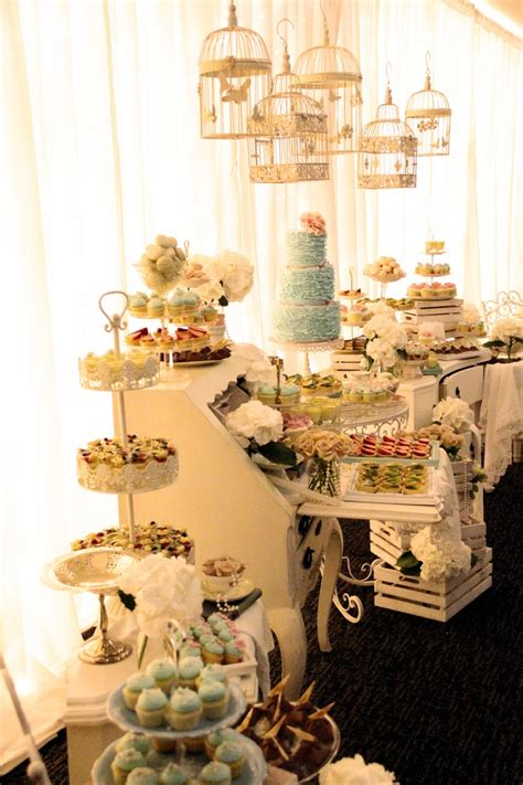 Mr And Mrs Luongs Shabby Chic Dessert Table My Work