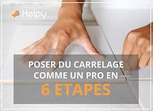 Comment Poser Du Carrelage : comment poser carrelage mural salle de bain pour ce genre ~ Dailycaller-alerts.com Idées de Décoration