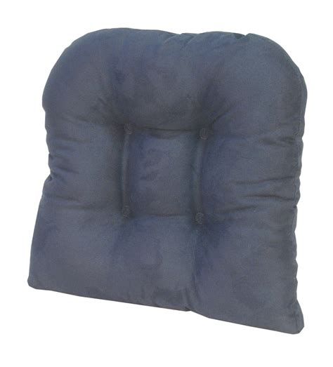 Large Gripper Chair Pads by The Gripper Non Slip Large Tufted Universal Chair Cushions