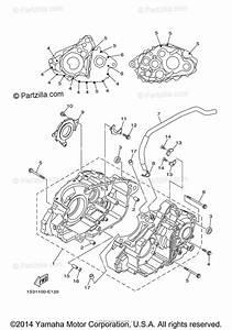 Yamaha Atv 2013 Oem Parts Diagram For Crankcase