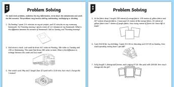 ks2 fluency reasoning and problem solving primary