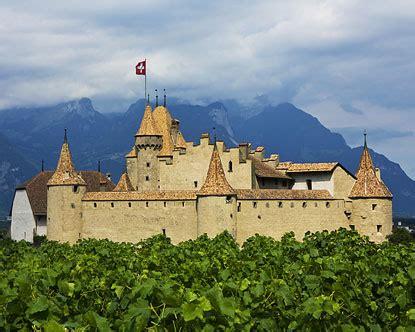 aigle castle chateau daigle switzerland