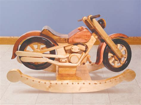 Motorcycle Rocker Motorcycle Rocker Toy Plan 097d-1528