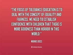 Teaching Tolerance Quotes QuotesGram