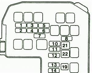 2001 Fuse Box Diagram