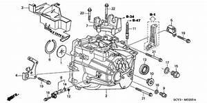 Mt Transmission Case For 2004 Honda Element 5