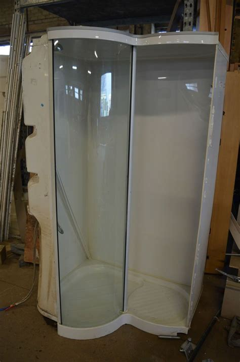 caravan shower unit cubicle ideal  camper conversion
