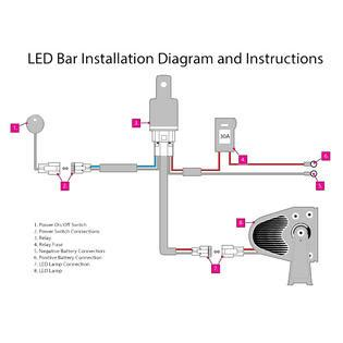 Opt Off Road Led Light Bar Power Switch