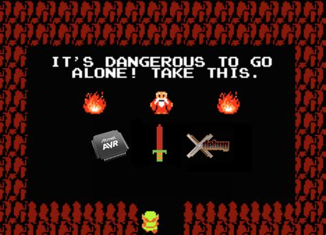 It's Dangerous To Go Alone, Take This!