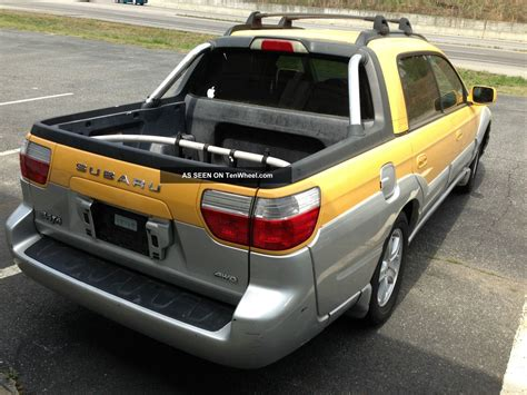 subaru baja base crew cab pickup  door