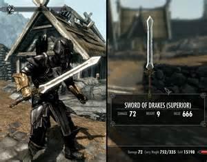Drake's Sword of deviantART Skyrim