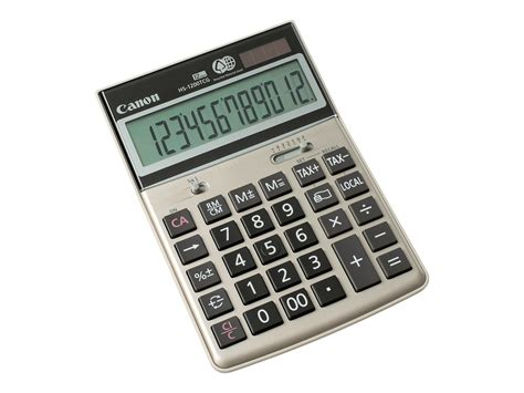 calculatrice bureau canon hs 1200tcg calculatrice de bureau calculatrices