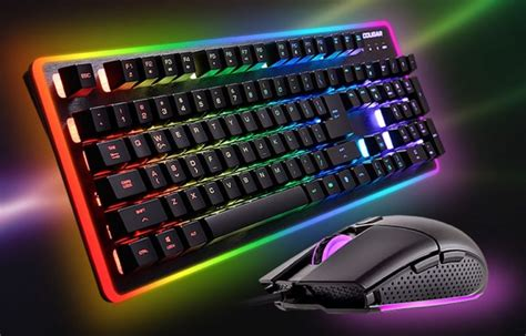high end lighting deathfire ex mouse and keyboard bundle review eteknix