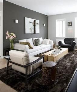 les 25 meilleures idees concernant canape marron fonce sur With tapis d entrée avec canape cuir gris et blanc