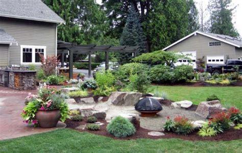 Landscape Design For Small Backyard - top 50 best pit landscaping ideas backyard designs