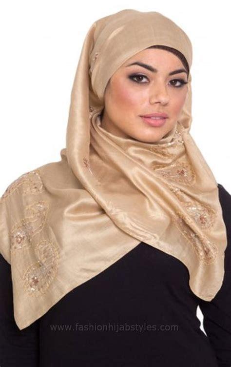 beige colour hijabs beige silk hijab layla style  modern fashion styles  hijab girls