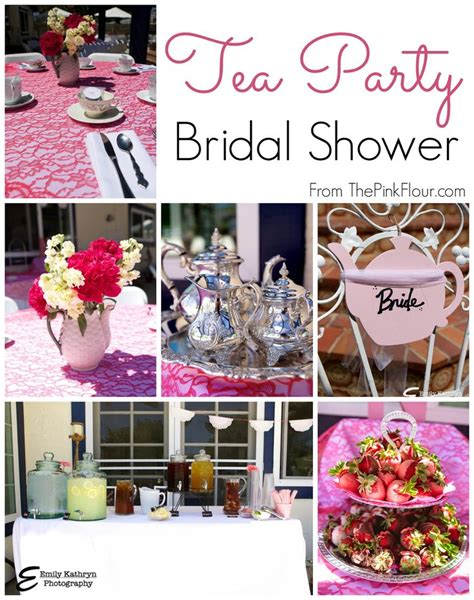 Tea Bridal Shower by Tea Bridal Shower A Modern Spin On A Traditional