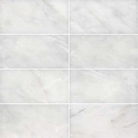 shop anatolia tile 8 pack venatino polished marble wall tile common 3 in x 6 in actual 2 95