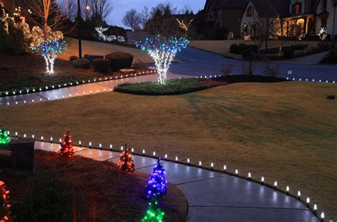 outdoor christmas driveway lights outdoor christmas yard decoration ideas