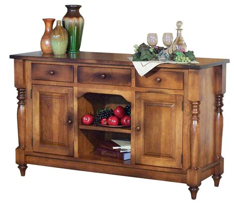Sideboard Servers by Amish Farmhouse Harvest Buffet Server Sideboard Solid Wood