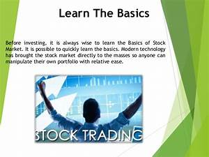 Best Ways to Learn Stock Investment | Secured Option