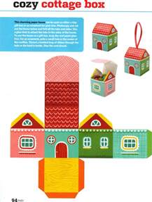 free printable paper house box free printables and more ornaments ideas paper