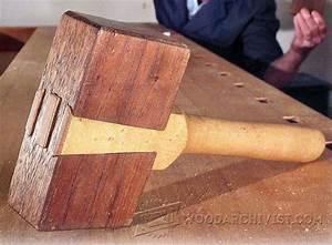 Wood Mallet Plans • WoodArchivist
